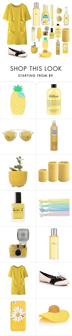 """""""Patd-Victorious"""" by shaycorreia ❤ liked on Polyvore featuring PBteen, philosophy, Christian Dior, Bed Head by TIGI, Dot & Bo, Lauren B. Beauty, Ribband, Lomography, Hermès and WithChic"""