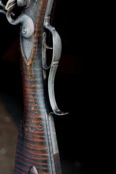 Flintlock Rifle, Black Powder Guns, Rifles, Figure Painting, Bushcraft, Firearms, Dark Side, The Darkest, Ohio