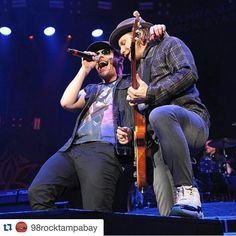 #Repost @98rocktampabay: @TheBrentSmith and @ZMyersOfficial @Shinedown during the 2016 #98Rockfest Mark LoMoglio #ZachMyers #Shinedown #BrentSmith