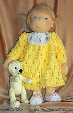 Louane Waldorf doll