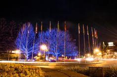 Praça das Bandeiras.