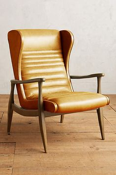 Premium Leather Roadway Chair - anthropologie.com