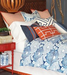 Luxury Bedding by Eastern Accents - Indira Collection