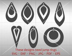 Hanging Tear Drop SVG Hanging Earring SVG Pendant svg
