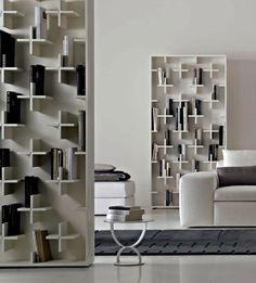 :: FURNITURE :: SHELVING :: love the concept of storage as wall art, lovely design concept by arketipo italy | target bookshelf