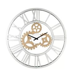 """Williston Forge Astrid 31"""" Wall Clock 