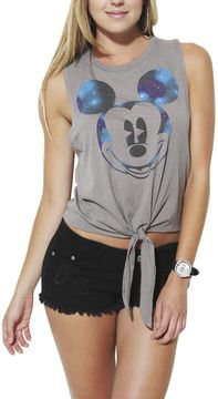 Wet+Seal+Cosmic+Mickey+Tank+on+shopstyle.com