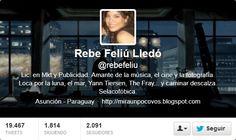 Fotos Twitter de portadas de Rebe Feliu Lledo