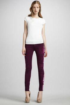 Rich and Skinny Legacy Skinny Jeans in Hendrix Purple
