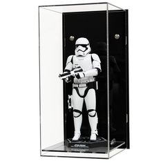 Acrylic Wall Display Case for a Scale Action Figure