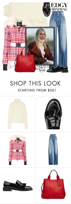 """Cool winter style"" by judy78 ❤ liked on Polyvore featuring Yves Saint Laurent, Robert Clergerie, Moncler Grenoble, Maison Margiela, Marni and Love Always"
