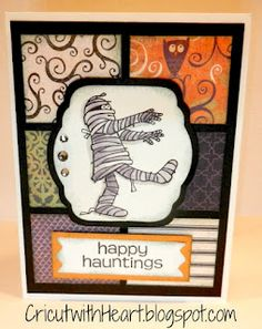 Halloween card   CricutwithHeart.blogspot.com