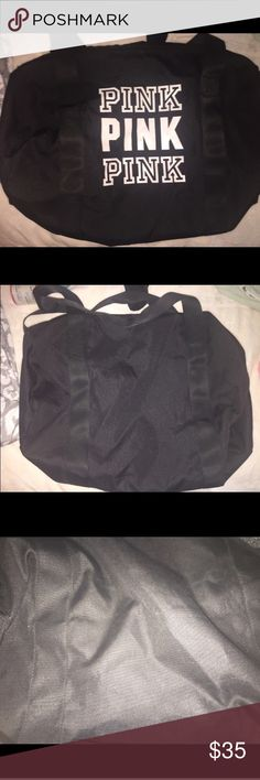 Pink Victoria's Secret duffle bag In great condition. Open to offers PINK Victoria's Secret Bags