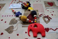 Collana Allattamento Dentizione Babywearing Massaggiagengive Crochet Silicone