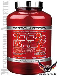Scitec Nutrition 100% Whey Protein Professional ist eine herausragende, kalt verarbeitete Molkeprotein-Mischung mit Wheyprotein Konzentrat und Isolat.