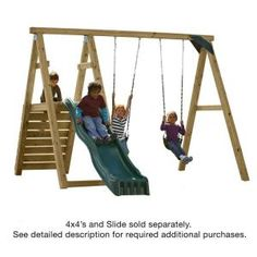 Pine Bluff Play Set (just Add 4x4's And Slide)