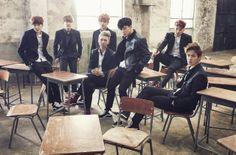 방탄소년단, 교복 입고 상남자 포스 뽐내 http://kpopenews.com/3095   고화질 보도 사진과 객관적인 기사를 전달하는 K-POP 전문 미디어  #BTS, #방탄소년단