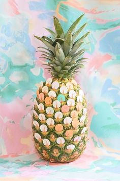 These still life photos celebrate summer style, from sweet treats and tropical foliage to blue water and pineapples! Pineapple Wallpaper, Tropical, Summer Breeze, Illustrations, Still Life Photography, Food Photography, Oeuvre D'art, Pastel Colors, Colours