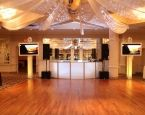 A simple and elegant DJ booth set up for New Year's Eve at Battleground Country Club in Manalapan, NJ. For more information on this venue go to www.battlegroundcc.com/. #XplosiveEntertainment, #BattlegroundCountryClub, #DJboothsetup, #elevatedenhancements.