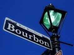 bourbon street sign - Google Search