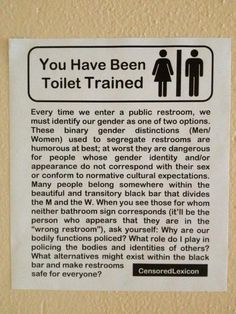 1000 Images About Lgbtqia On Pinterest Transgender Gender Neutral Bathrooms And Feminism
