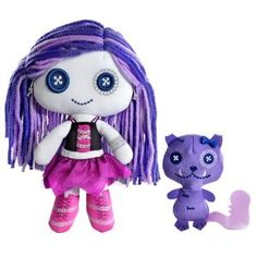 Me & my dee Love Monster, Monster High Dolls, Monster High Crafts, Little Ones, Little Girls, Ghoul School, Diy Jewelry Charms, Little Monsters, Plush Dolls