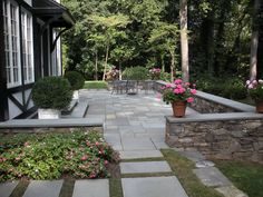 Leydon Landscaping Inc in Buckingham Pennsylvania- Amazing Natural stone walls and patio