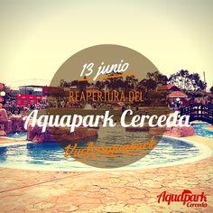 Os esperamos este #viernes en la reapertura de la nueva temporada #verano2014 del #Aquapark Cerceda!!