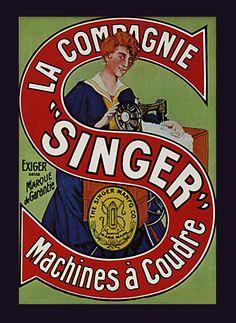 sewing machine poster - Google-søk