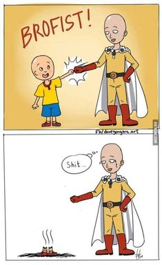 Get your favorite One Punch Man Saitama collectibles only here in RykaMall - your toy store. Other One Punch man characters are available here as well. One Punch Man Anime, Saitama One Punch Man, One Punch Man Memes, One Punch Man Funny, Anime Meme, One Punch Man Wallpapers, Naruto E Boruto, Caillou, Anime Crossover