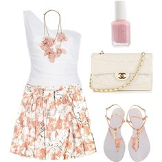 Pretty and Peachy, created by katelyndeb.polyvore.com