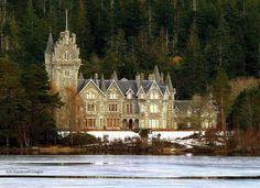 Ardverikie House, Laggan [set for the TV series Monarch of the Glen and one of my favourite views from across the Loch].