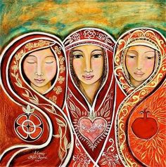 Three Marys: Mother Mary, Mary Magdalene & Marie Salome ♥♥