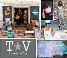 Twenty violets bags, towels, dresses www.stylebird.nl