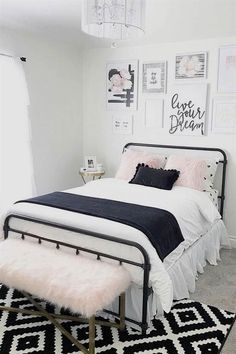 Perfect 43 Inspiring Teen Bedroom Ideas You Will Love