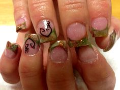 Browning love camo nails :)