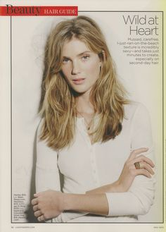 Second Day Hairstyles, Lucky Magazine, Just Run, Wild Hearts, Hair Inspo, What To Wear, Hair Beauty, T Shirts For Women, Sexy