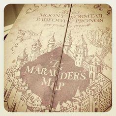 Marauder's Map/ Harry Potter
