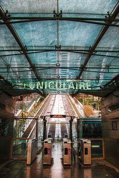 Funiculaire de Montmartre, Paris.