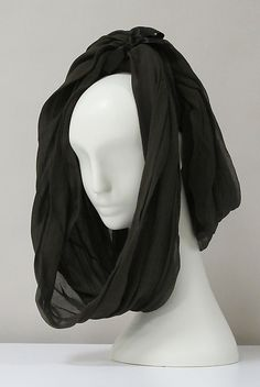Hat  House of Balenciaga  (French, founded 1937)    Date:      1960s  Culture:      French  Medium:      silk