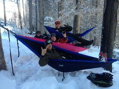 ENO hammocks aren't just for summer! Thanks to Michael Wiesner - Riudoso, NM