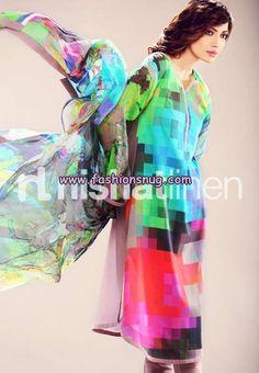 Nishat Linen Digital Prints 2013 For Eid-Ul-Fitr