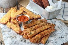 Today I decided to do breadsticks in three different ways: Italian style, extra cheesy, and cinnamon sugar. Two savory flavors which taste absolutely delicious just dipped in some tomato sauce (I use Rao's), and one sweet flavor which tastes fantastic dipped in a cream cheese buttercream (1 oz. Cream Cheese, 2 tbsp. Heavy Cream, and 1 …