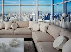 20 Amazing Living Rooms With Extraordinary View
