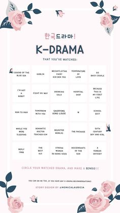 Discover recipes, home ideas, style inspiration and other ideas to try. Korean Drama Funny, Korean Drama List, Korean Drama Quotes, Korean Drama Movies, Watch Korean Drama, Tv Series To Watch, Movies To Watch, Bingo Template, Templates