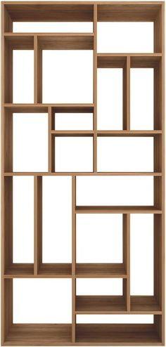 Ethnicraft Online offers high quality handmade furniture crafted from solid teak wood in Singapore. Shop for your home & office furniture online now! Deco Furniture, Living Furniture, Colorful Furniture, Handmade Furniture, Furniture Storage, Wood Shelves, Storage Shelves, Shelving, Room Divider Shelves