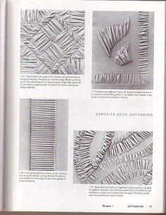 The art of manipulating fabric - СБОРКИ И БУФЫ. Обсуждение на LiveInternet…