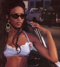 original seed: single ladies ah cant hear yah Foto Fashion, 2000s Fashion, Hip Hop Fashion, Fashion Moda, Runway Fashion, Fashion Outfits, Black 90s Fashion, Black Girl Magic, Black Girls