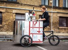 The Velopresso Bike is a Pedal-Powered Mobile Coffee Shop | Inhabitat - Sustainable Design Innovation, Eco Architecture, Green Building