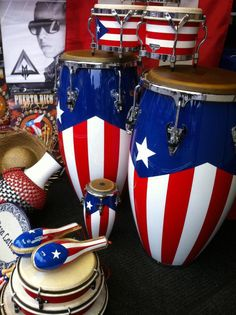 When I was in my and living alone in Manhattan. my comfort would be to sit and play my congas and bongos to Tito Puente and all my fab salsa musicians of the time . I loved my congas. they rooted me to my Yoruba heritage. Puerto Rican Music, Puerto Rican Flag, Puerto Rico Pictures, Puerto Rico Food, San Juan Puerto Rico, Puerto Rico History, Puerto Rican Culture, Enchanted Island, Puerto Rican Recipes
